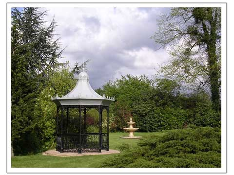 Bandstand in a Garden setting