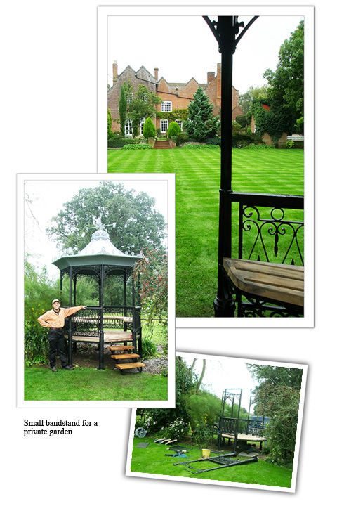 bandstand for private garden