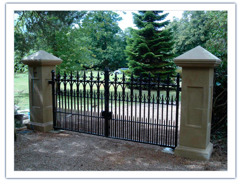 Stafford Entrance Gates also Wrought Iron in addition House gates also Baby Gates Stairs besides Gate Design. on sliding gate designs for homes
