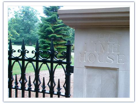 Gothic Victorian Sligo Gates Peter Weldon Iron Designs Ltd