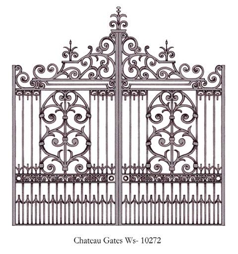 Chateau gates peter weldon iron designs ltd