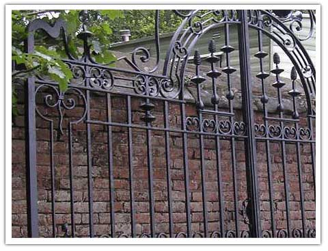 Edwardian Gates Peter Weldon Iron Designs Ltd