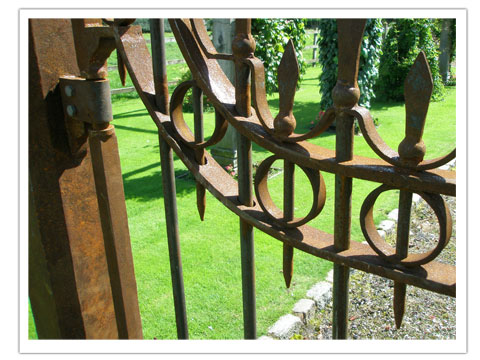 Detail of Victorian Carrage Drive Gates #2