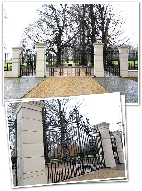 Morley Hall Gates