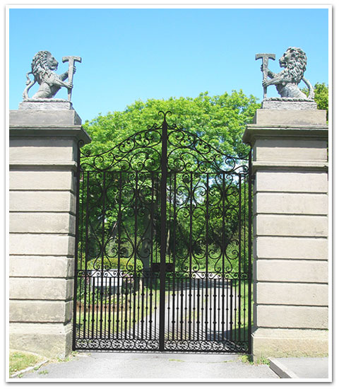 Crosby Hall Gates