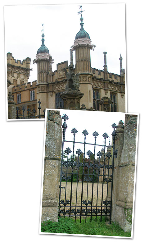 Knebworth House Pedestrian Gate
