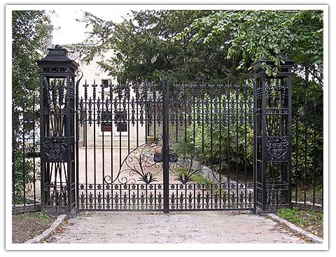 Queens Gates - Wrought Iron Gates & Railings