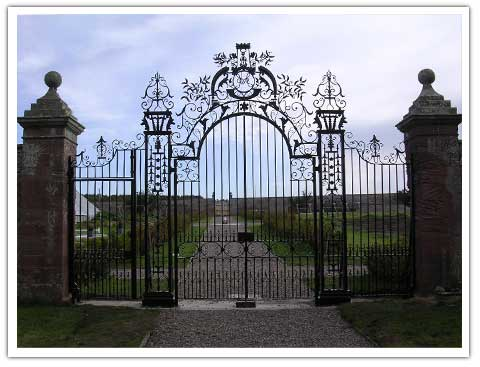 Ethie Gate - Antique Gates