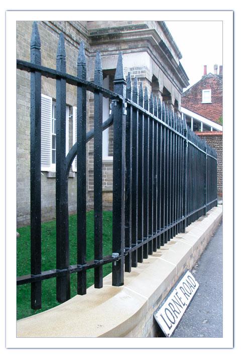 Georgian Exterior Railings Peter Weldon Iron Designs Ltd