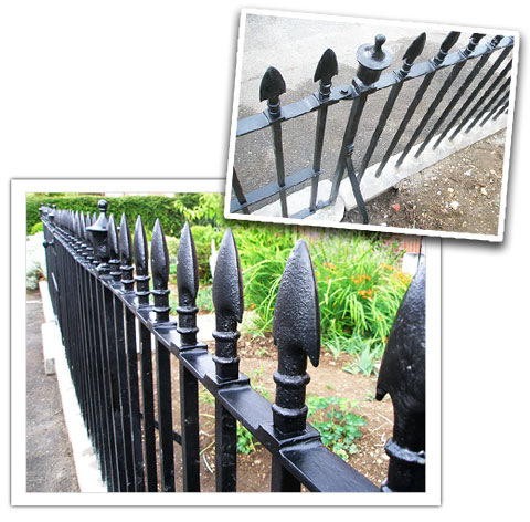 Grade Ii Listed Terrace Railings - Peter Weldon Iron Designs Ltd