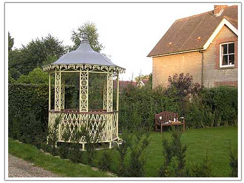 photography of a summer house